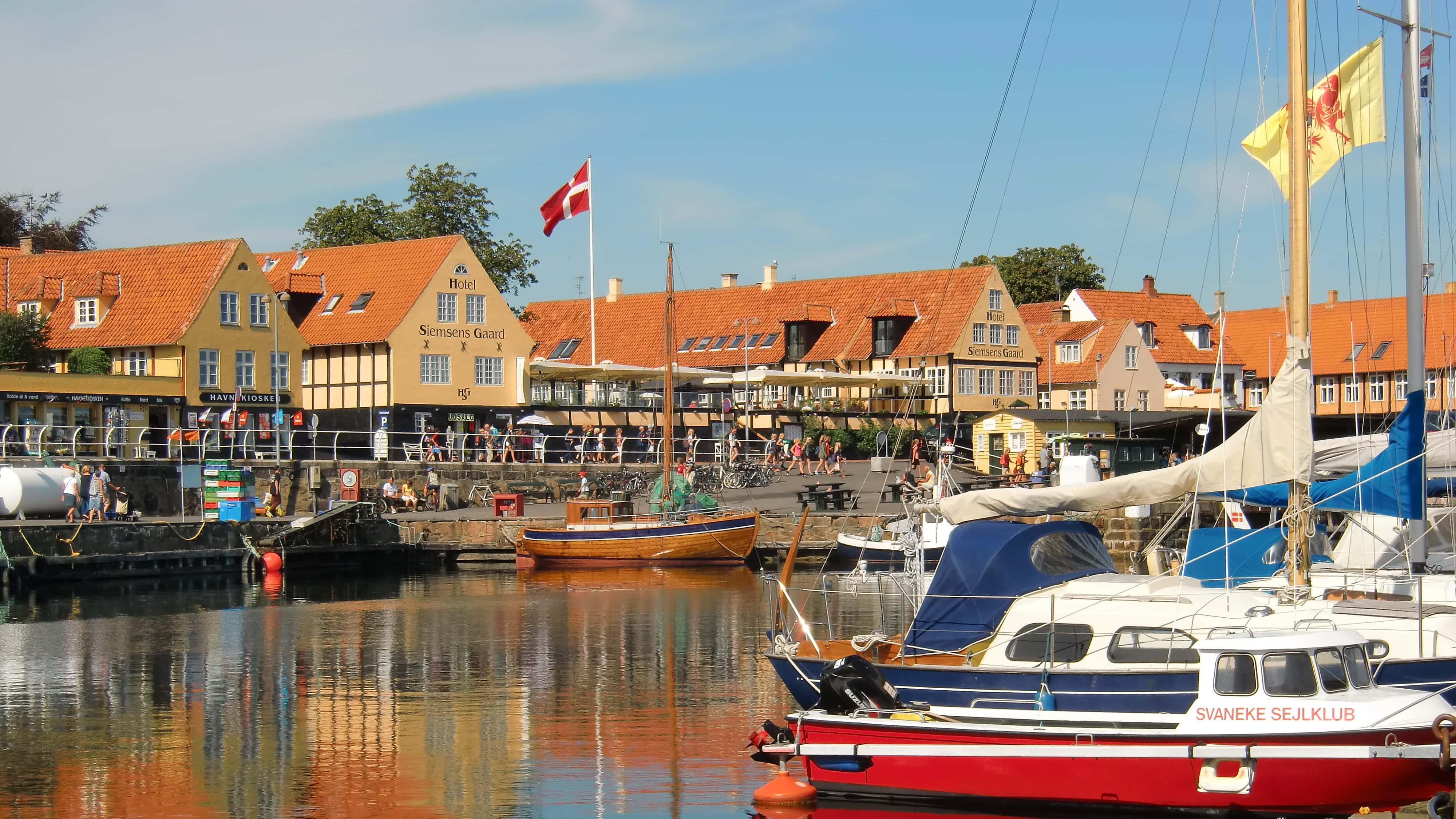 Svaneke wurde zu Dänemarks schönster Kleinstadt gekürt.