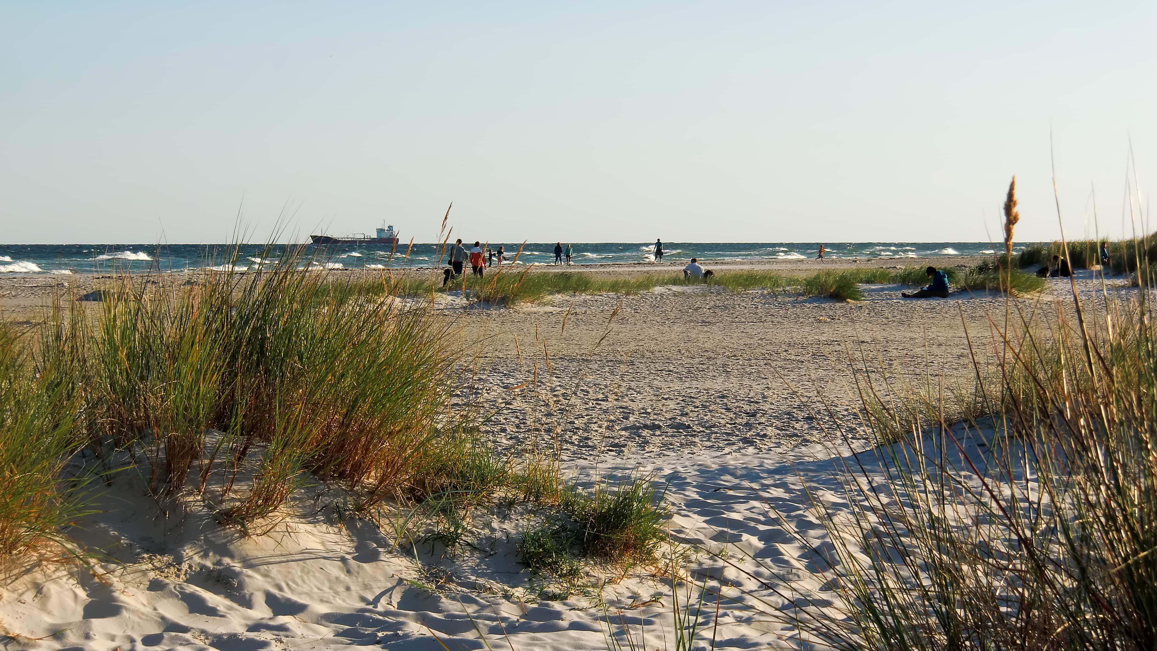 Der Sand von Bornholm wurde früher für Sanduhren verwendet.