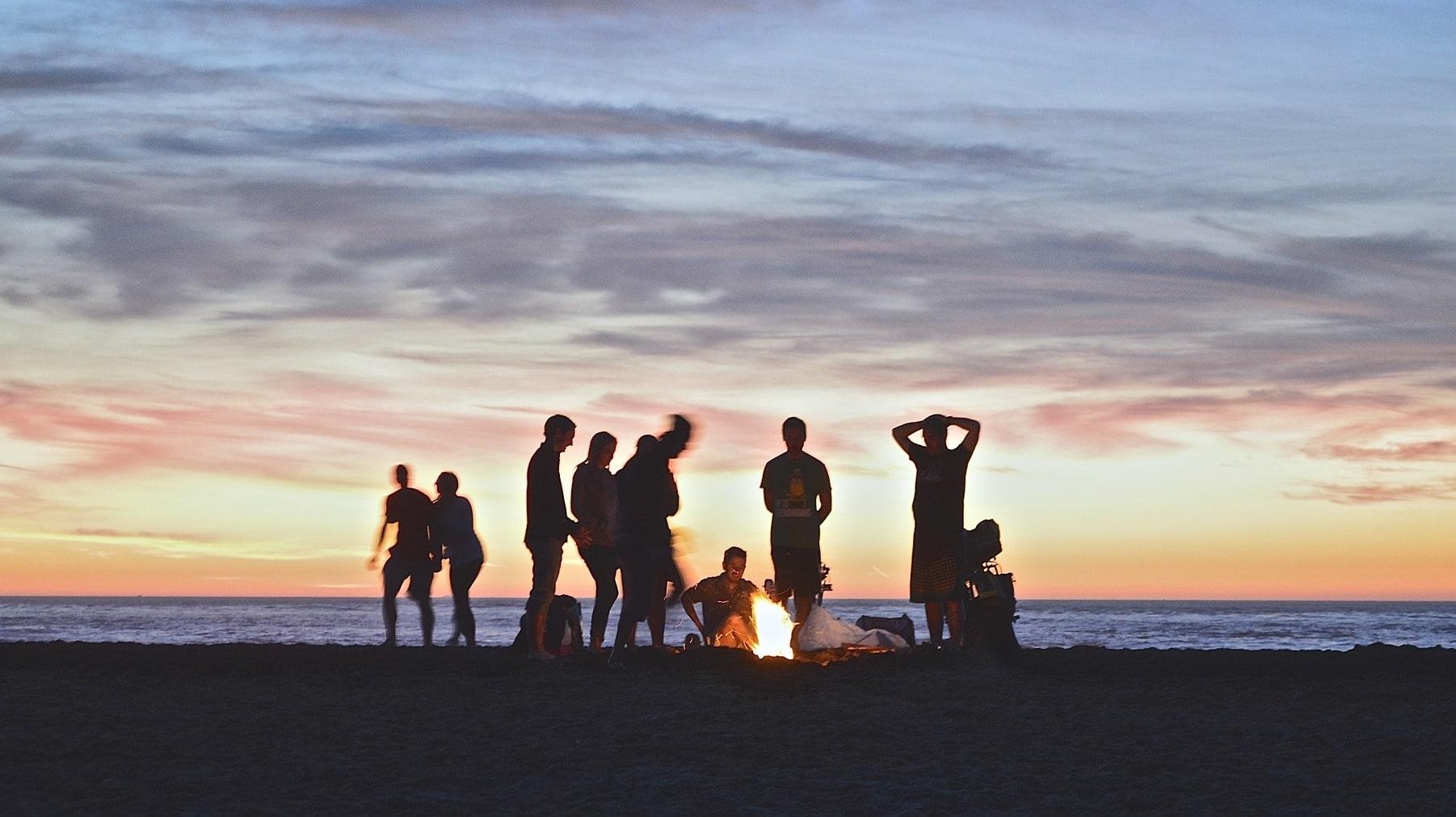 Auch in Finnland gibt es die Tradition des Osterfeuers.
