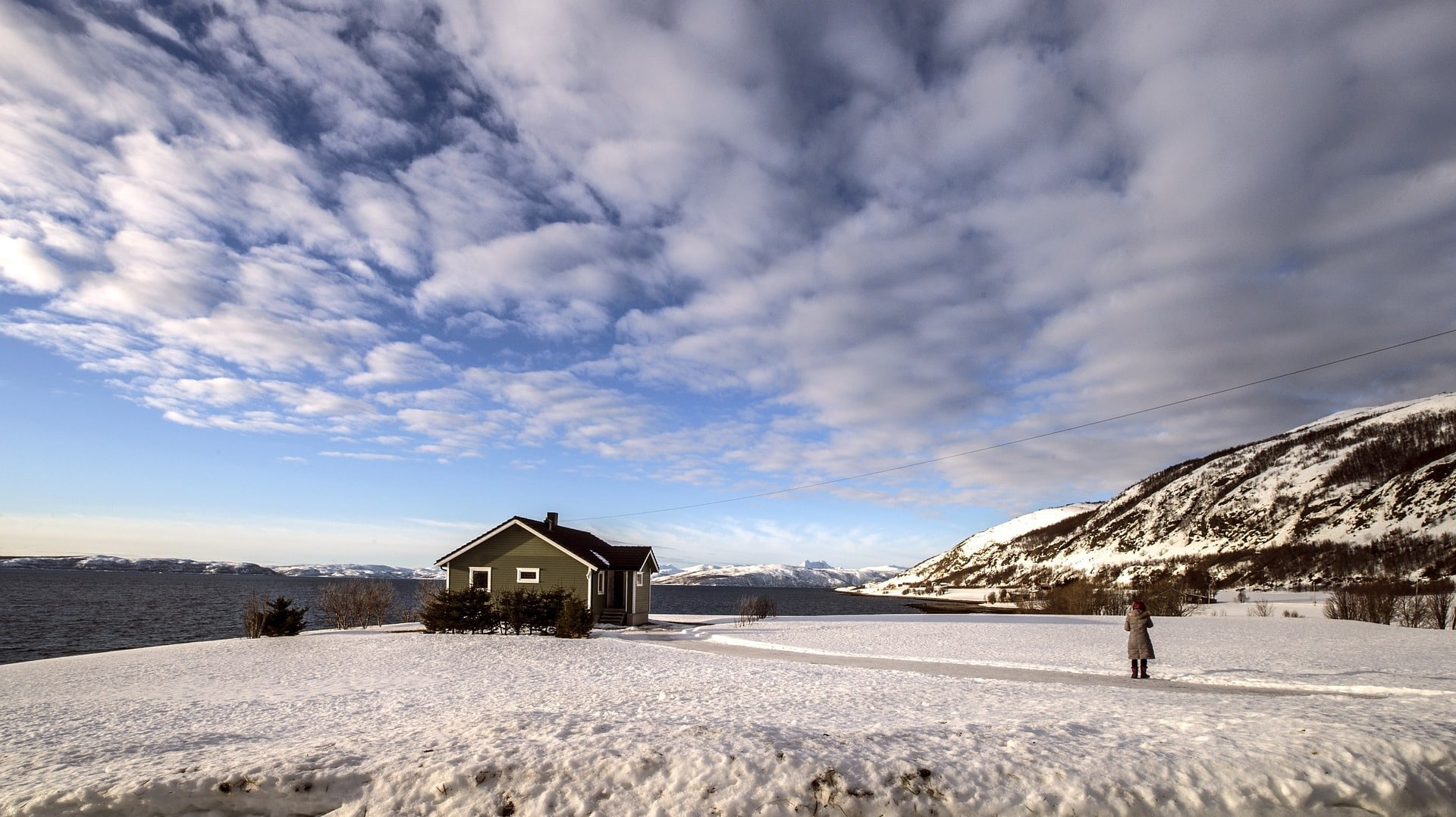 Islands Natur ist im Winter sehr rau.