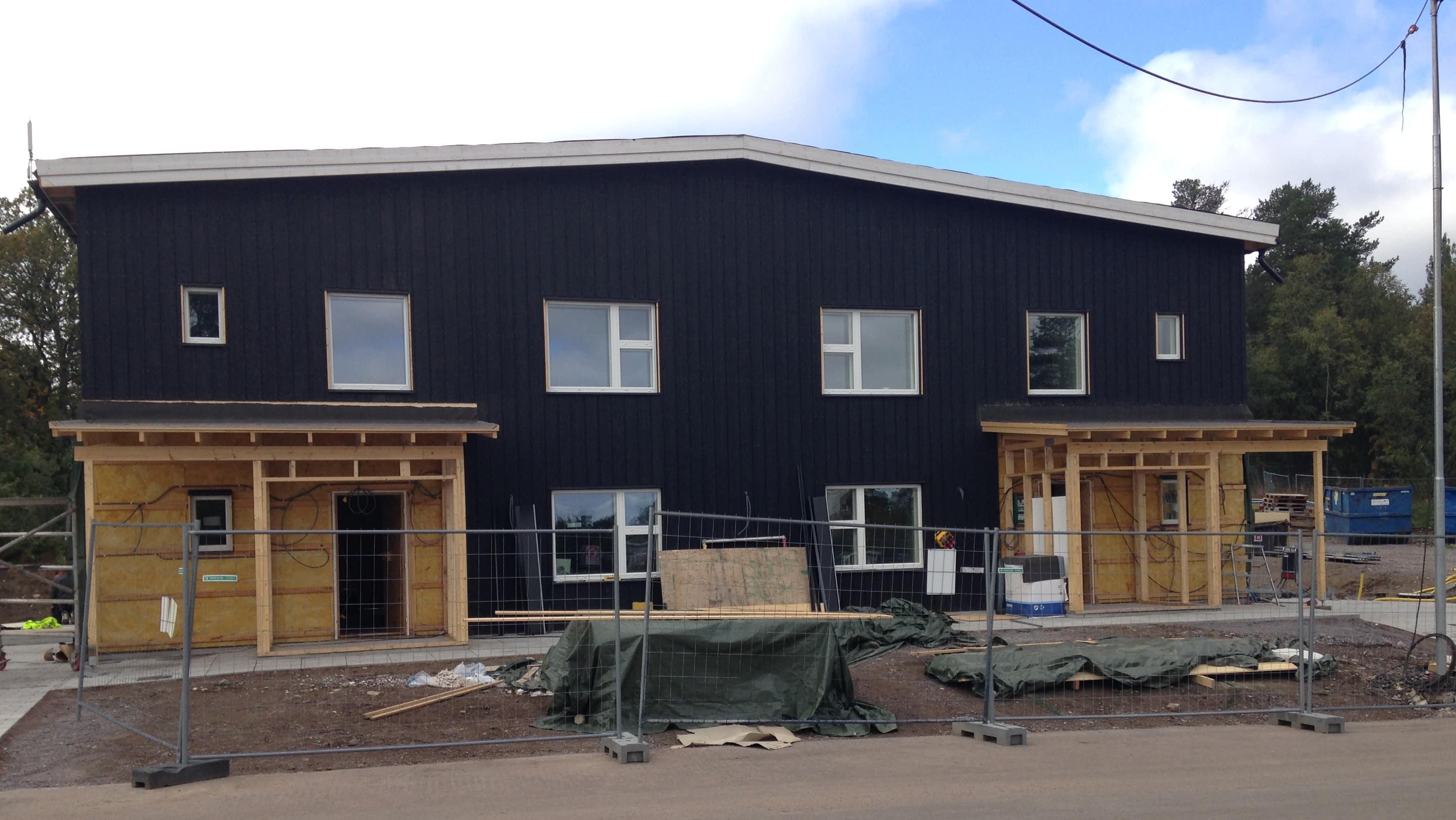 Das nördlichste Passivhaus in Kiruna in Schweden.