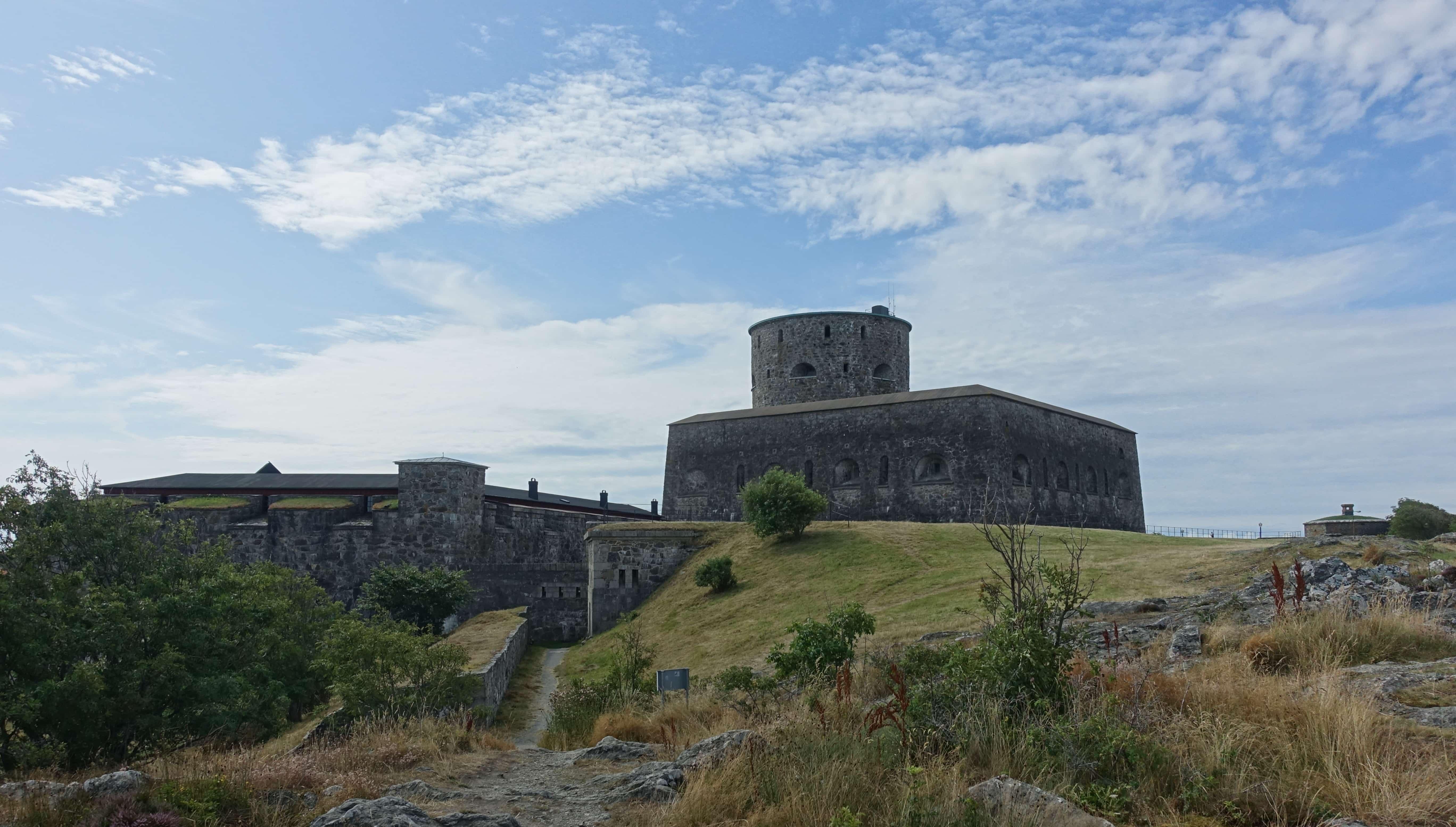 Die Festung Carlsten auf Marstrand. Hier finden im Sommer die berühmten Festspiele statt.