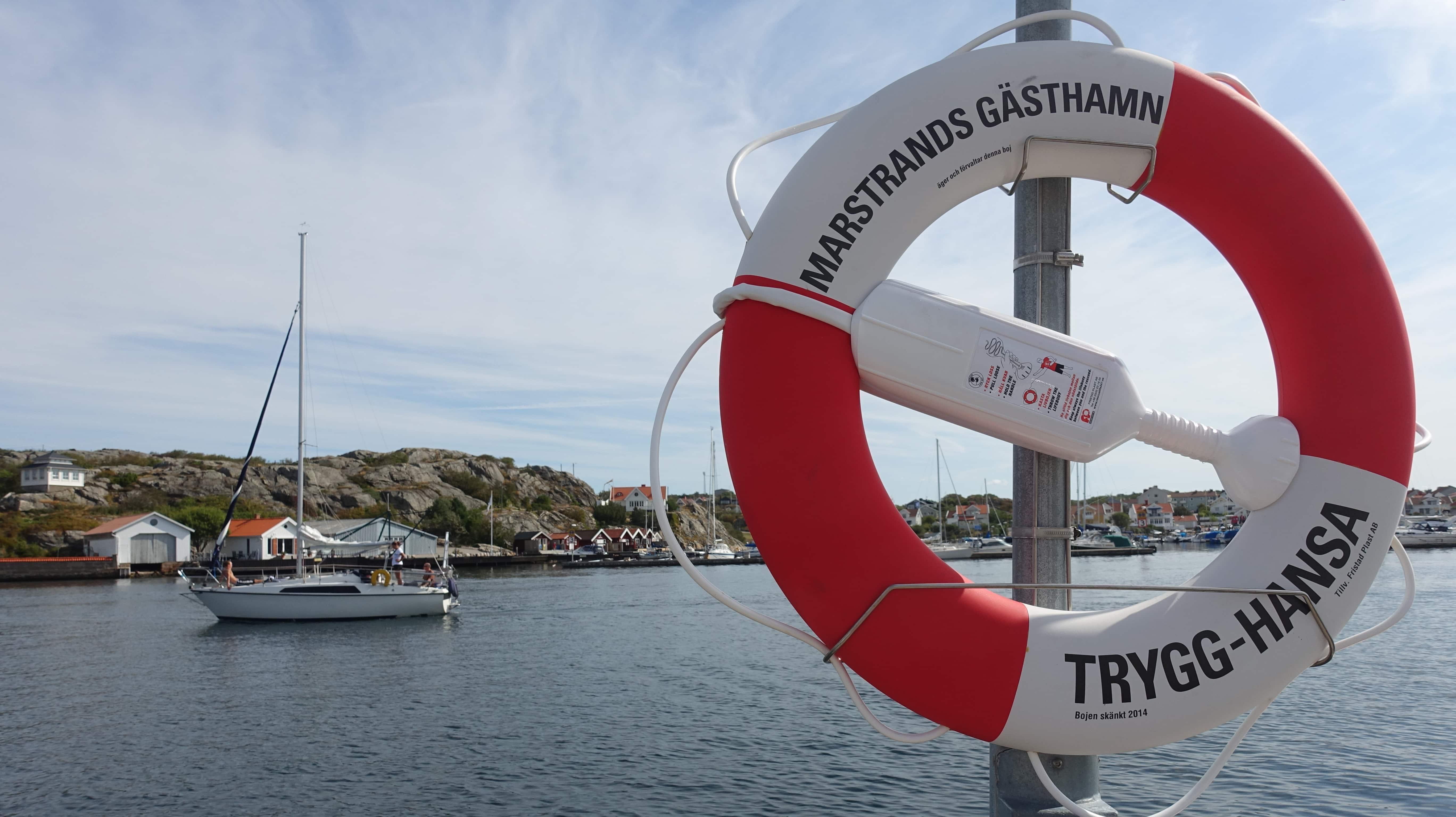 Marstrand ist die Segelhauptstadt Schwedens