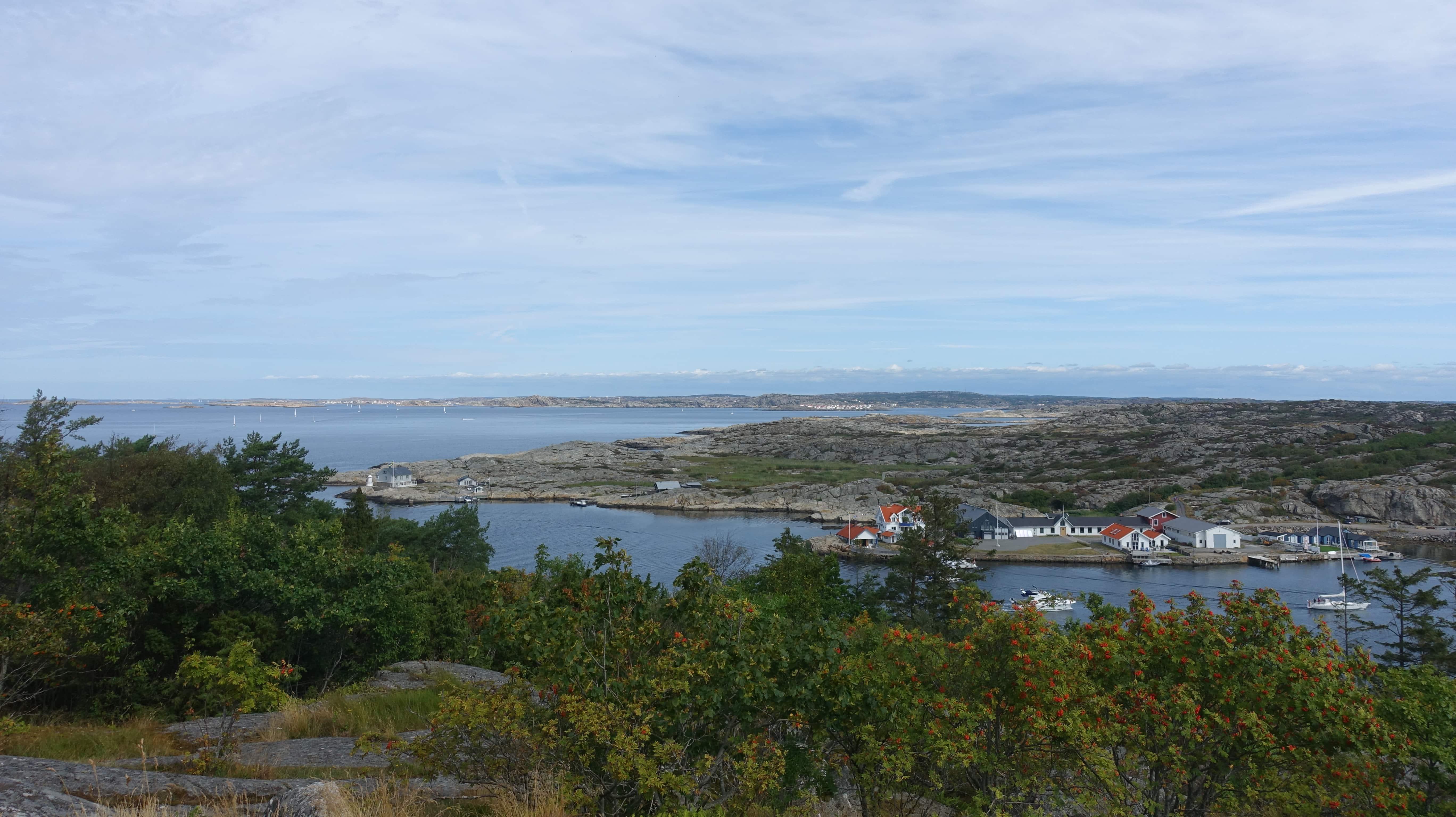Vor Marstrand treffen sich das Skagerrak und das Kattegat