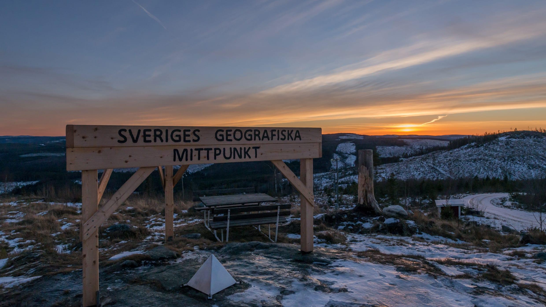 Der Flataklocken ist der geografische Mittelpunkt von Schweden