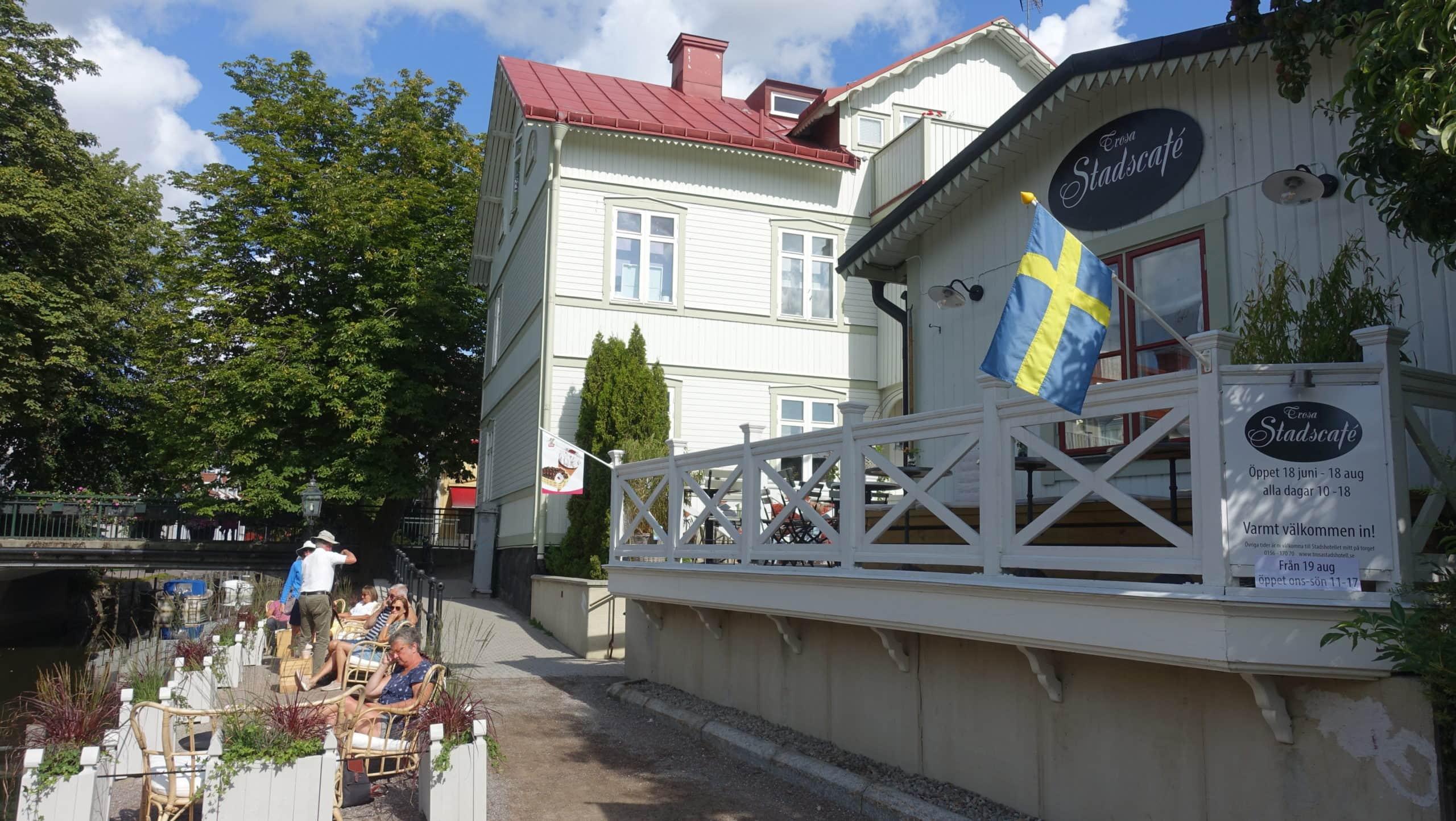 Das Stadscafé in Trosa diente schon als Kulisse mehrerer Inga Lindström Filme