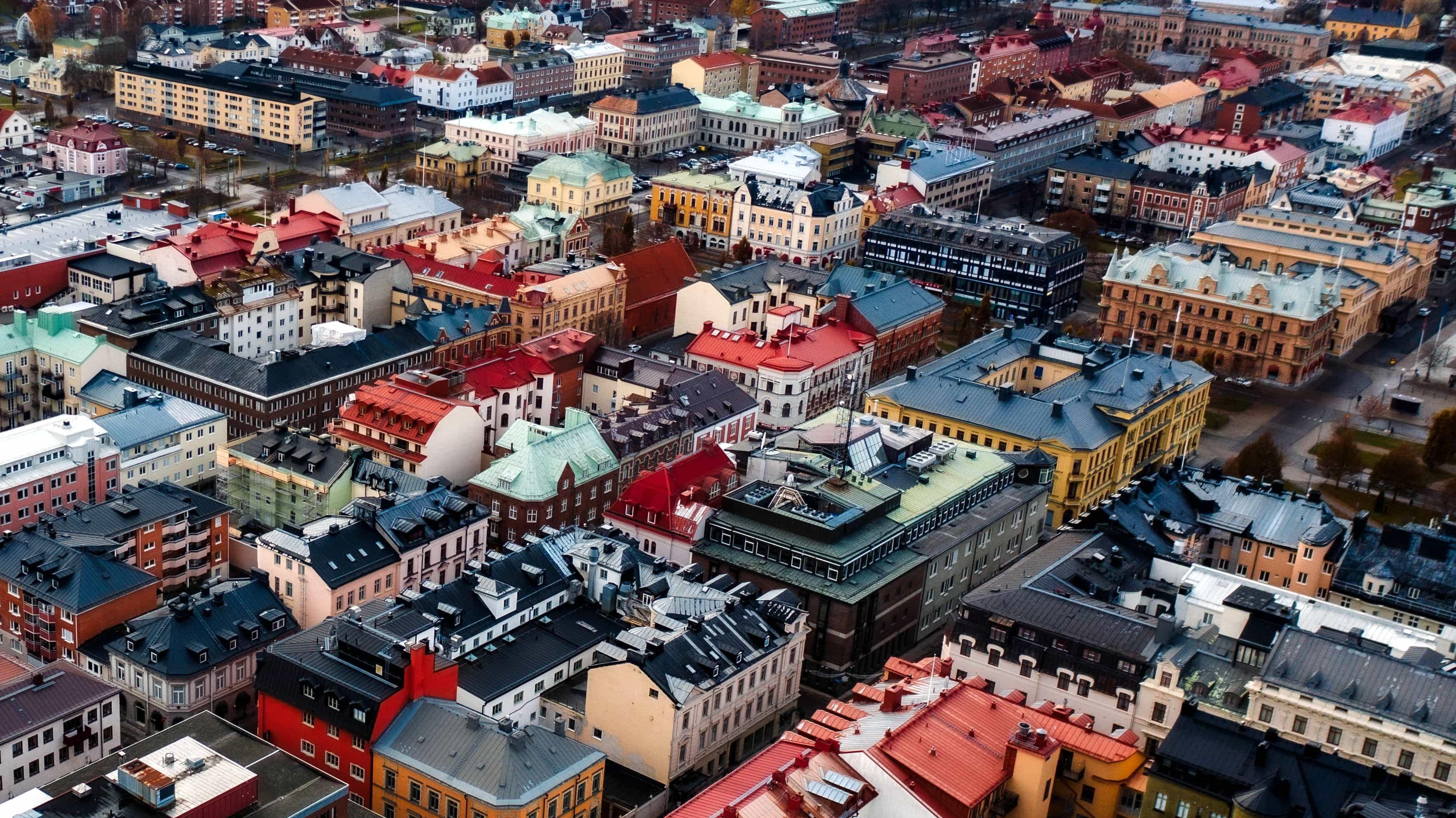 Sundsvall wird auch Steinstadt genannt, denn ganz anders als in Schweden üblich sind die meisten Häuser aus Stein gebaut.