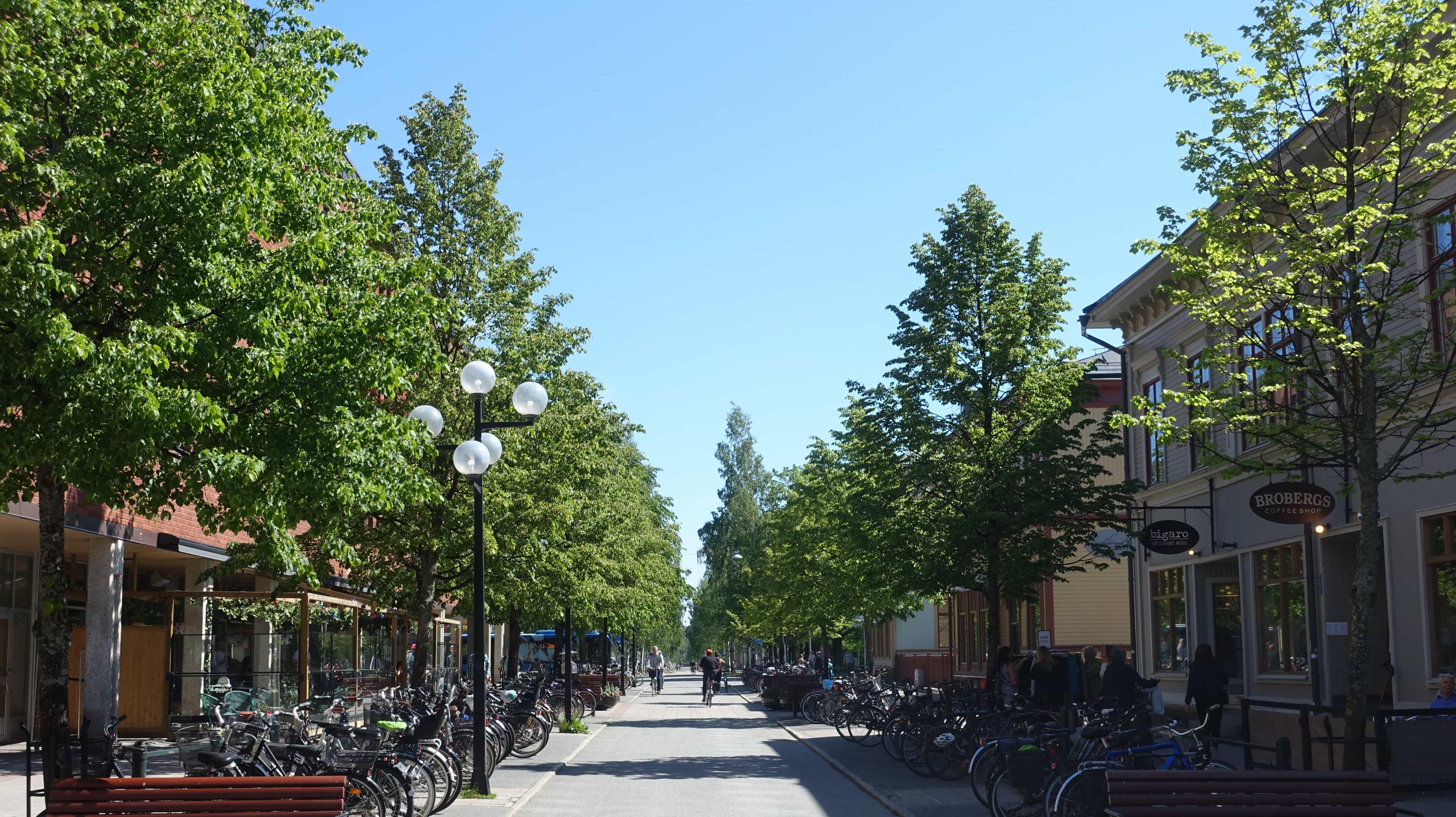 Green Umeå – der Name ist Programm